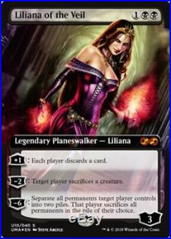 1x Liliana of the Veil Foil (NM-Mint) Ultimate Masters Box Toppers MTG Sea
