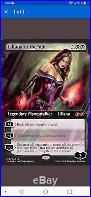 1x MTG Liliana Of The Veil Ultimate Box Topper, NM-M, Pack Fresh