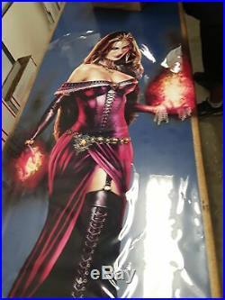 1x MTG Liliana of the Veil Window Cling (43x33) Slightly Scuffed
