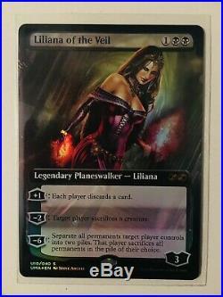 1x liliana of the veil mtg FOIL box topper NM