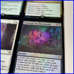 3x3 FOIL Uncut Sheet War Of The Spark Rare Sheet Nissa, Karn, Liliana, etc