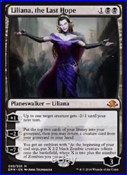 4X Liliana, the Last Hope Mythic Eldritch Moon MTG M/NM #Games
