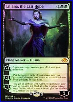 4x FOIL Liliana, the Last Hope MTG Eldritch Moon EMN MINT -Kid Icarus