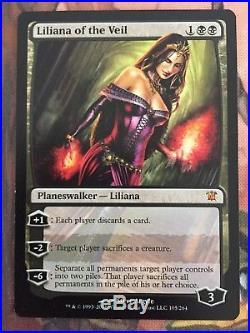 4x Liliana of the Veil Innistrad LP/NM