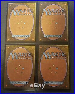 4x Liliana of the Veil (Innistrad) NM MtG Signed