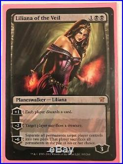 4x Liliana of the Veil MTG Innistrad