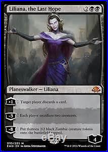 4x Liliana, the Last Hope