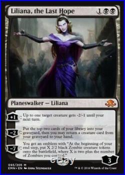 4x Liliana, the Last Hope Eldritch Moon MTG DeadGuyGames