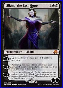 4x Liliana, the Last Hope MTG Eldritch Moon EMN MINT Kid Icarus