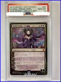 Excellent MTG Liliana Yoshitaka Amano 097264 Japanese psa 10