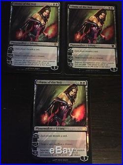 FOIL Innistrad Liliana of the Veil x3 Magic Cards