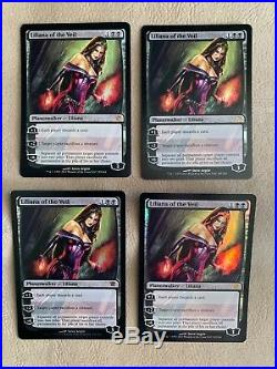 FOIL Liliana of the Veil x1 - 4 Avail. Innistrad MTG Magic the Gathering