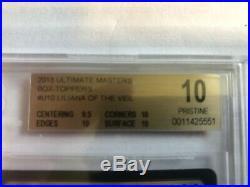 LILIANA OF THE VEIL BGS 10 PRISTINE MTG MAGIC FOIL BOX TOPPER UMA No Reserve