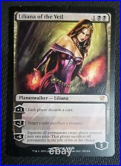 LILIANA of the VEIL x4 INNISTRAD MYTHIC RARE NM/M MTG