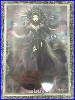 Liliana, Dreadhorde General Alt Art Amano War of the Spark Japan with B5 Poster