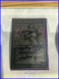 Liliana Heretical Healer / Defiant Necromancer SDCC ComicCon 2015 Black Foil MTG