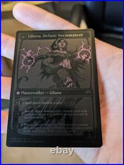 Liliana, Heretical Healer NM Black Flip Foil SDCC2015 Promo MTG Magic