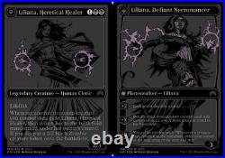 Liliana Heretical Healer SDCC 2015 NM Foil English Promotional Cards Magic Card