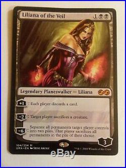 Liliana Of The Veil, Ugin The Spirit Dragon, FOIL Jace The Mind Sculptor
