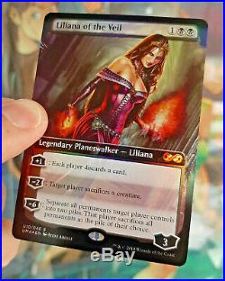 Liliana Of The Veil Ultimate Masters Box Topper Foil MTG Magic the Gathering