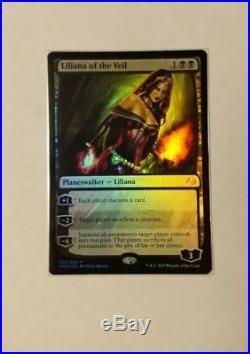 Liliana Of The Veil x1 NM Foil, Magic The Gathering MM17