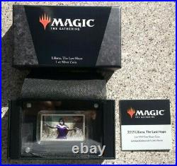 Liliana of The Veil 1oz Silver Coin (2019) MTG Magic The Gathering