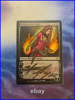 Liliana of the Veil ALTERED and SIGNED by Steve Argyle Innistrad