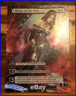 Liliana of the Veil Altered Full Art Foil Innistrad by Steve Argyle NM VHTF MTG