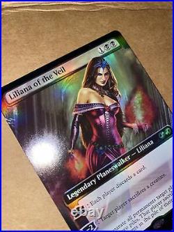 Liliana of the Veil- Box Topper Foil- Ultimate Masters Near Mint Unplayed Mtg