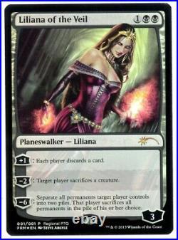 Liliana of the Veil FOIL ENGLISH DCI Promos MTG Magic NM/EX