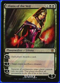Liliana of the Veil FOIL Innistrad PLD Black Mythic Rare CARD (191868) ABUGames