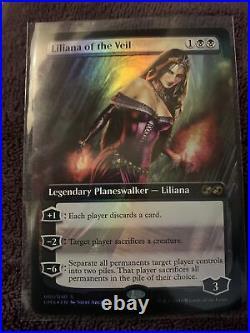 Liliana of the Veil (FOIL) Ultimate Masters Full Art Box Topper NM/M