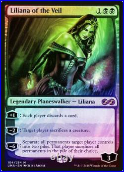 Liliana of the Veil FOIL Ultimate Masters MINT Black Mythic Rare CARD ABUGames
