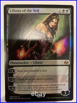 Liliana of the Veil Foil Modern Masters 17 NM MTG