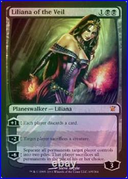 Liliana of the Veil Foil Played MTG Innistrad Magic 0QD