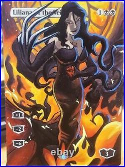Liliana of the Veil Full Art / Altered FMA / Fullmetal Alchemist Brotherhood