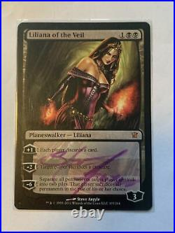 Liliana of the Veil Innistrad (Signed by Steve Argyle) Magic MTG