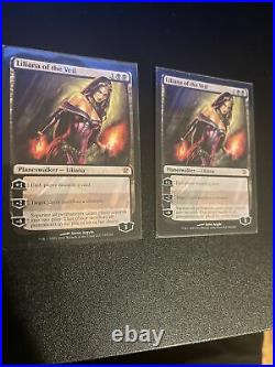 Liliana of the Veil MTG Innistrad Mythic Rare Slightly Played x2