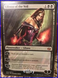 Liliana of the Veil NM Modern Masters 2017 X4