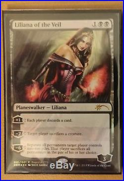 Liliana of the Veil RPTQ Promo Foil MTG