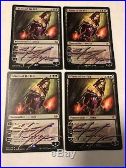 Liliana of the Veil Signed NM x4 Innistrad Modern Masters 2017