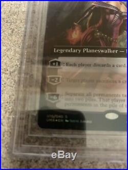 Liliana of the Veil Ultimate Masters Foil Box Topper BGS 9.5 Gem Mint