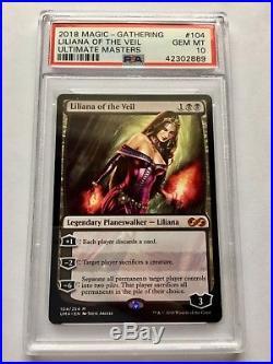 Liliana of the Veil Ultimate Masters MTG (PSA 10)