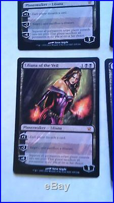 Liliana of the Veil x 4 Innistrad