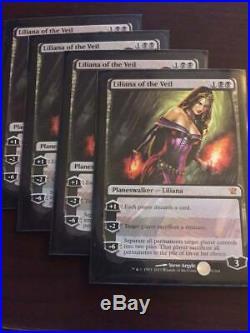 Liliana of the Veil x4 (Innistrad)