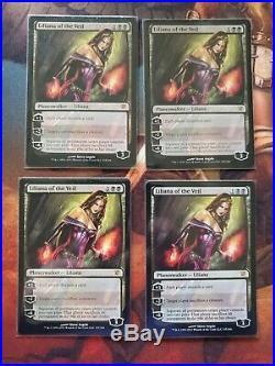 Liliana of the Veil x4 Innistrad NM-MP Magic the Gathering MTG