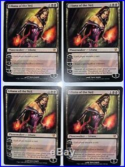 Liliana of the Veil x4 - LP, Innistrad, MTG