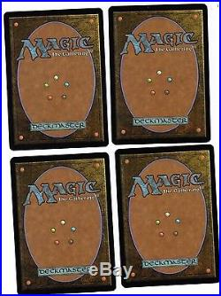 Liliana of the Veil x4 MTG Innistrad 4x Magic Light Play Free Ship LP