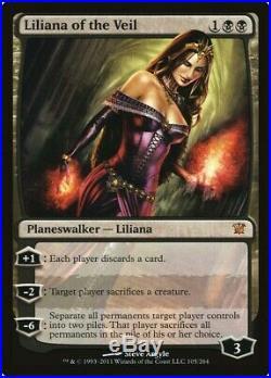 Liliana of the Veil x4 NM-LP (SEE DESCRIPTION)