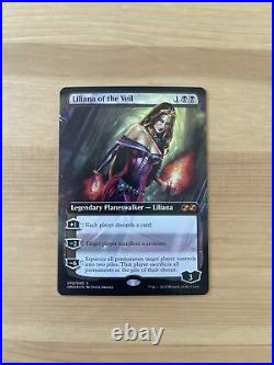 Liliana of the veil English Foil MTG Ultimate Masters Topper NM